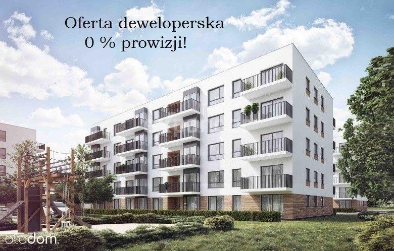 Nowe 3pokoje 62mkw, z balkonem. Oddanie 12.2021!