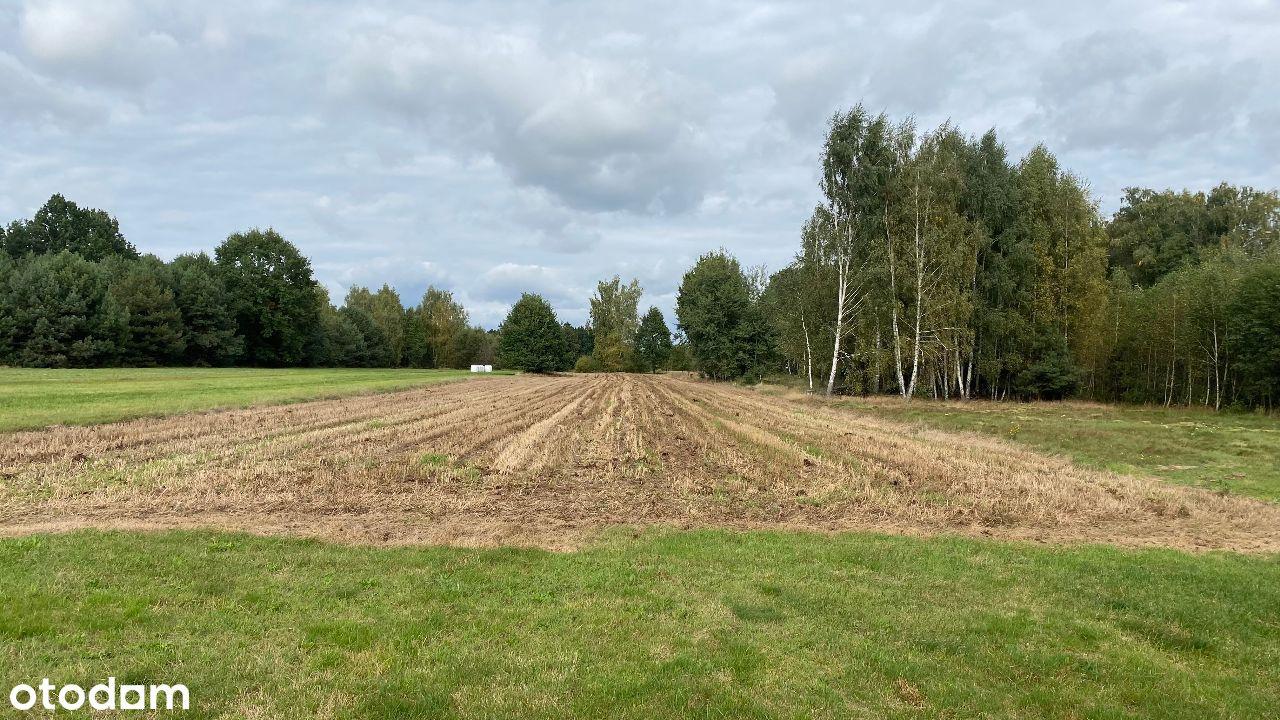 Działka rolno-budowlana, Jaźwiny gm. Borowie