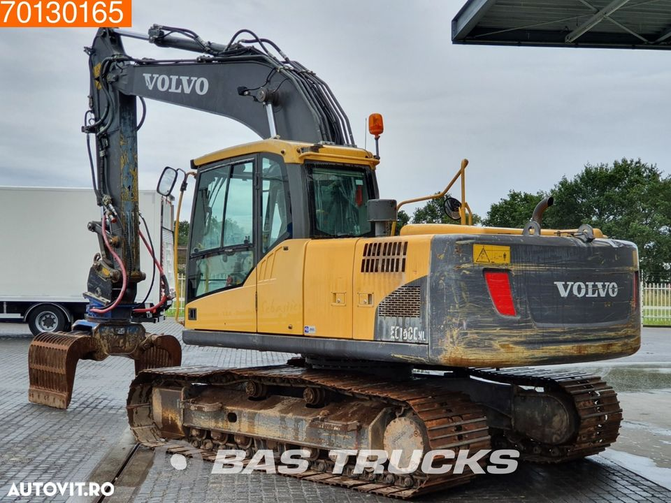 Volvo EC160 C NL Incl grapple - all functions - 2