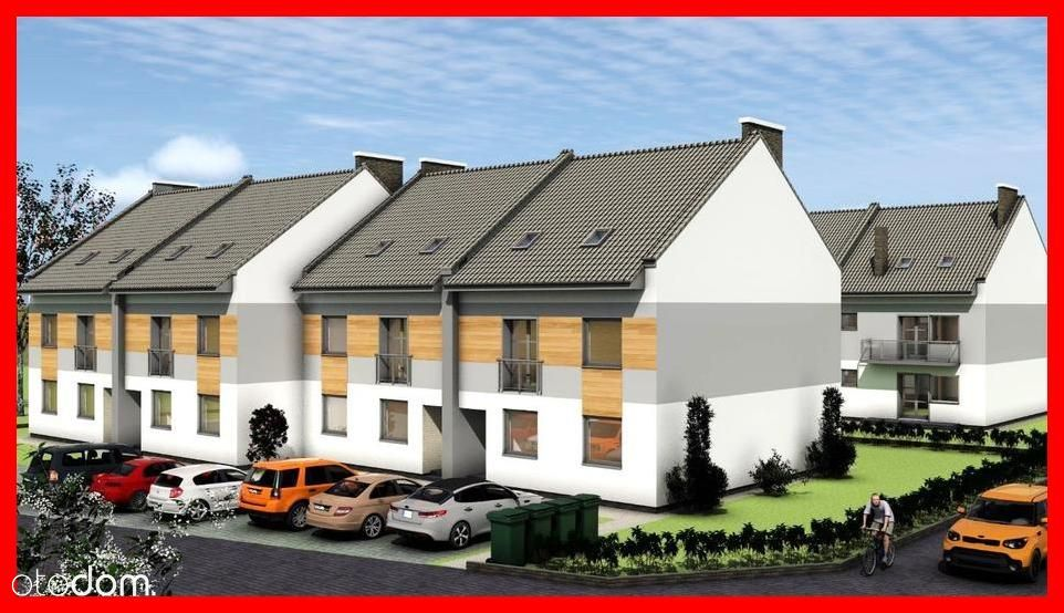 Mieszkanie 3 pokoje z ogródkiem + m. postojowe