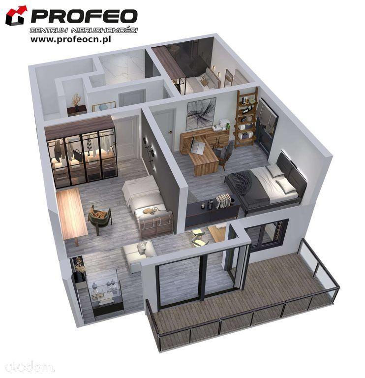 Mieszkanie, 79,30 m², Bielsko-Biała