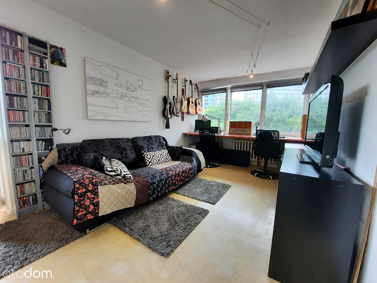 Ochota, 2 pokoje + balkon, 5 minut do CENTRUM