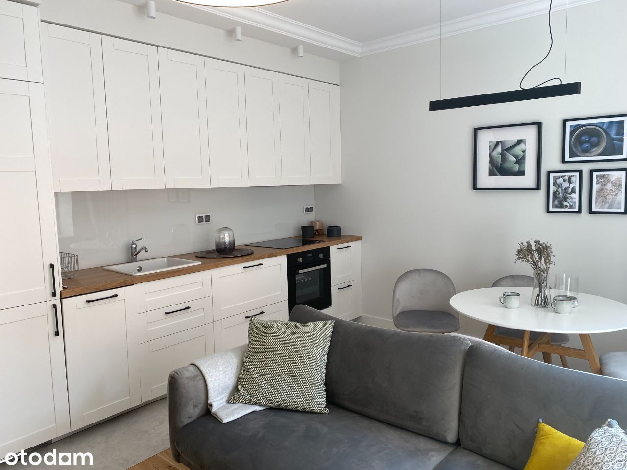 Mokotów-3 pokoje do zamieszkania lub na kancelarię