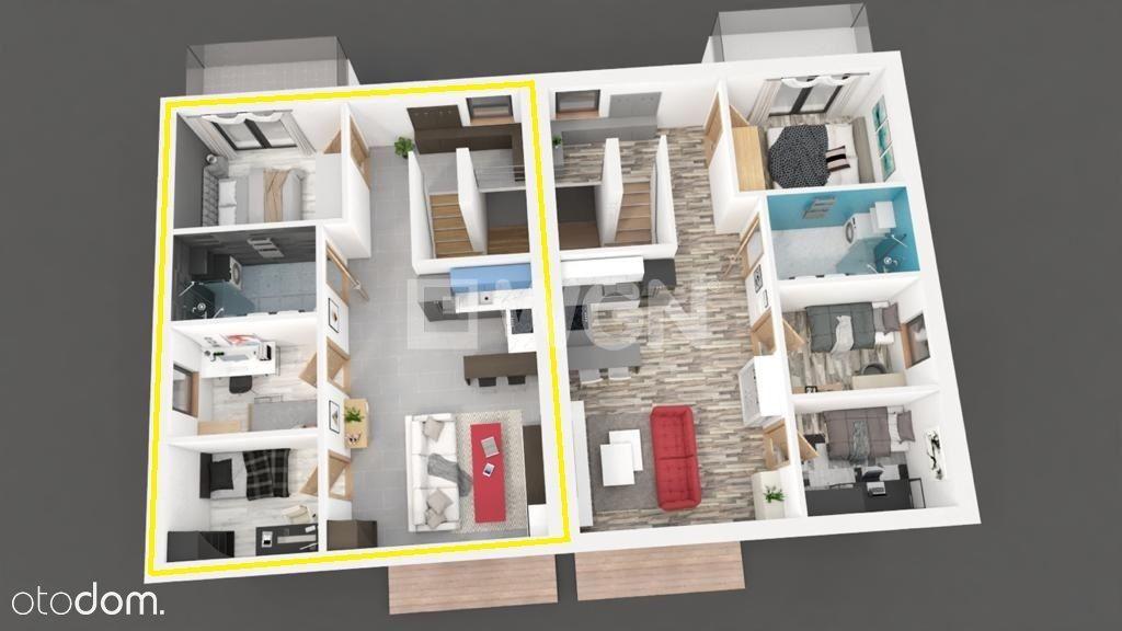 Nowe 4 pokojowe mieszkanie na 1 piętrze-2 balkony