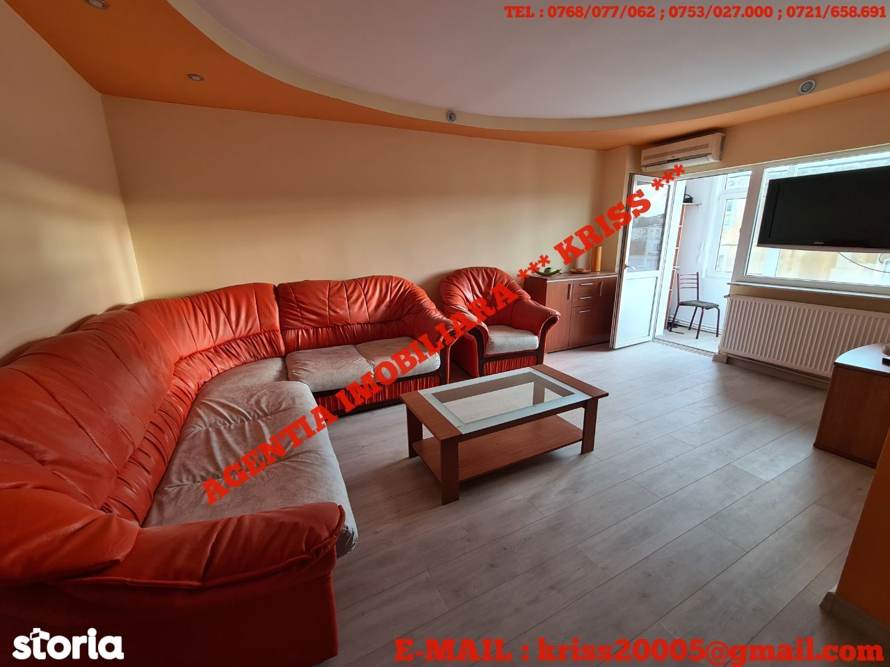 APARTAMENT 3 Camere GĂVANA 3 Confort 1 Decomandat Mobilat Utilat Liber