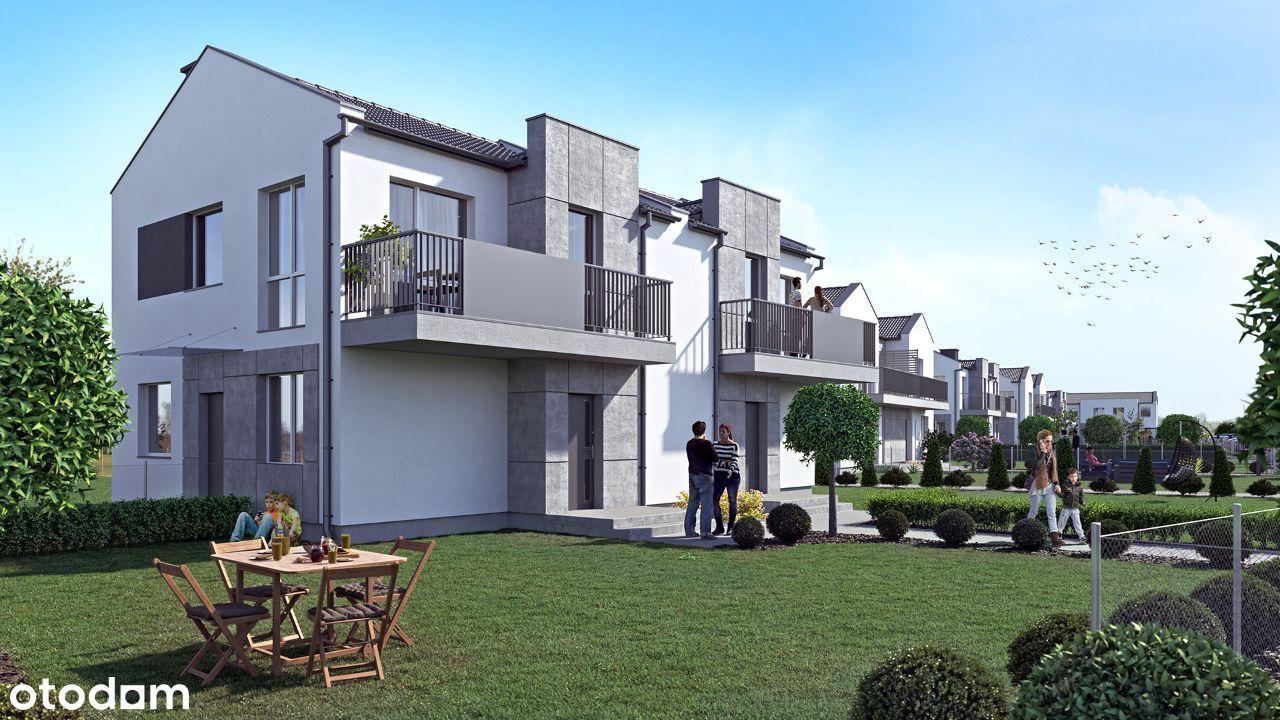 Dom w cenie mieszkania 80.8m2 ogródek + poddasze