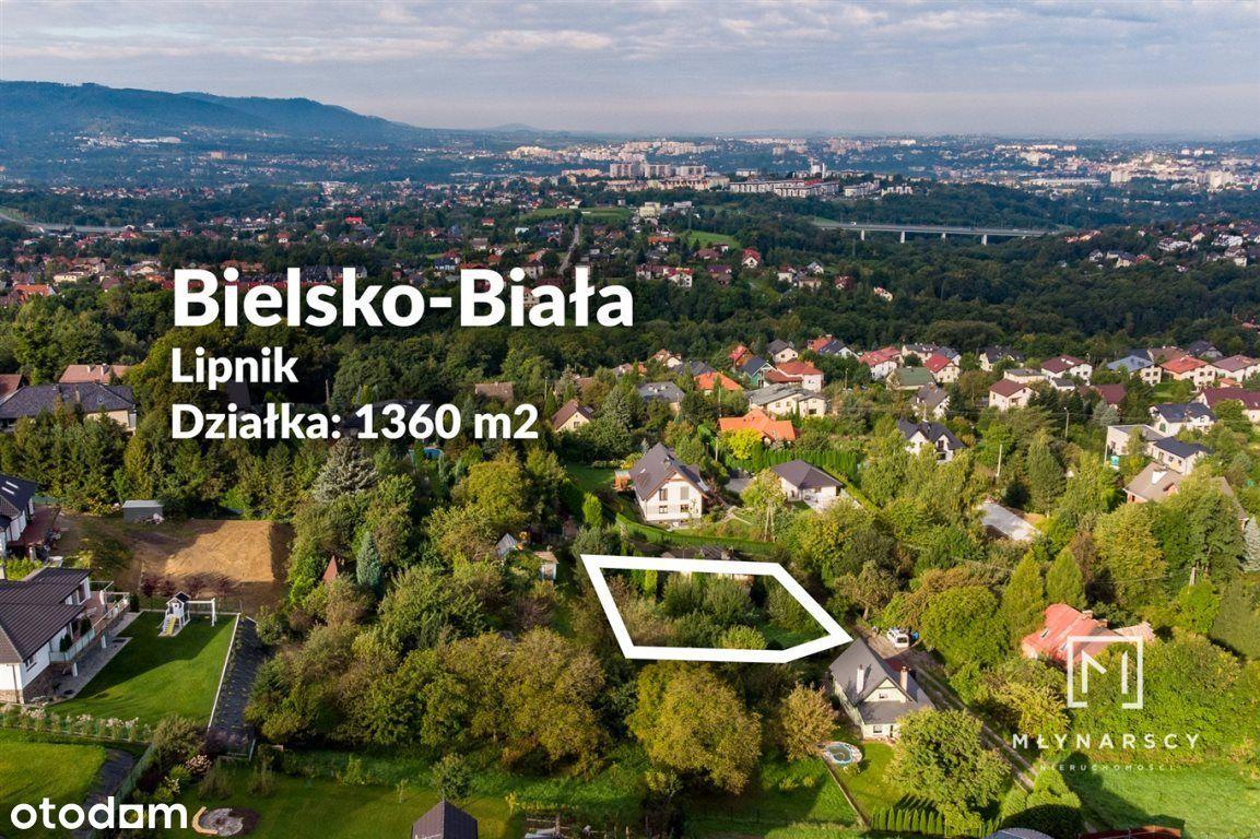 Działka, 1 360 m², Bielsko-Biała
