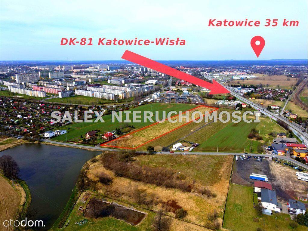 Działka usługowa blisko Dk-81, Żory