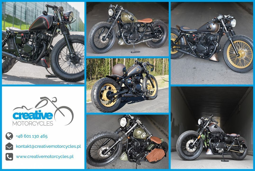Honda VT Shadow vt 600 Flame Custom Bobber cafe - 12