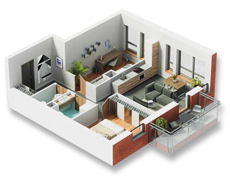 Okrzei , idealna lokalizacja , 3 pokoje