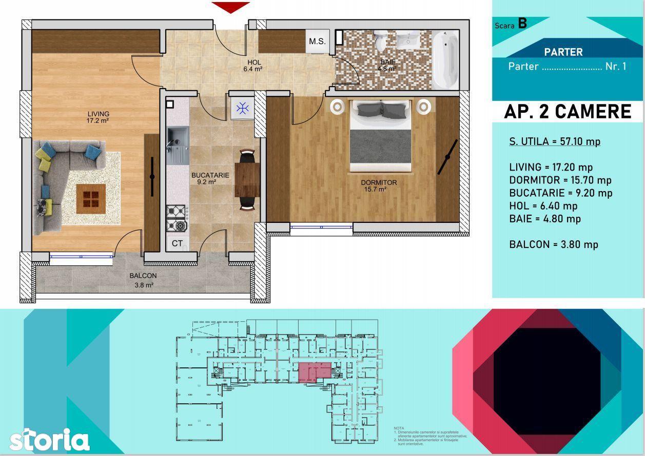 Apartament 2 camere  Titan- Metrou Nicolae Teclu,Parcul Teilor