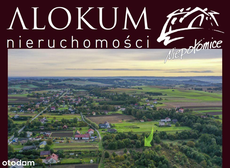 Działka w zacisznym miejscu w pobliżu Krakowa