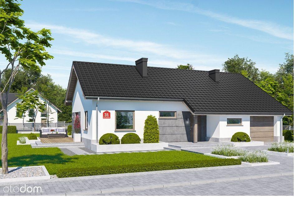 Dom z garażem na działce 800m2 - nowa inwestycja