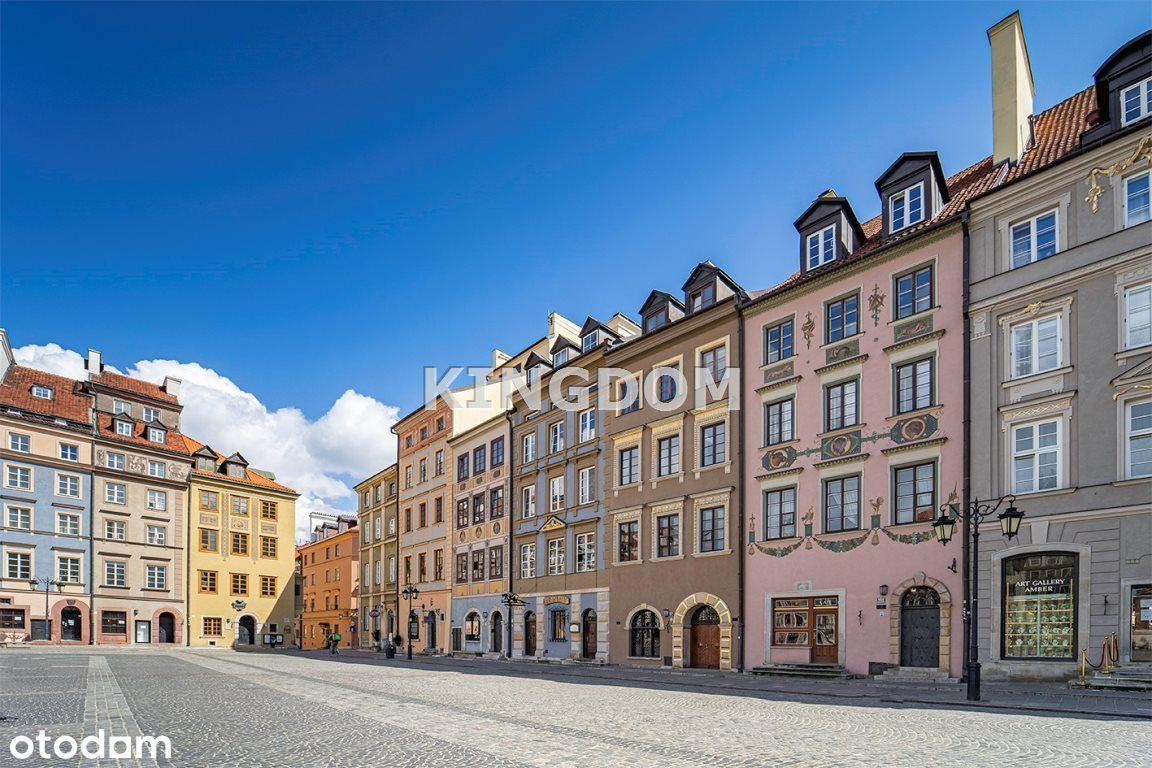 4 pokoje w kamienicy na Rynku Starego Miasta!