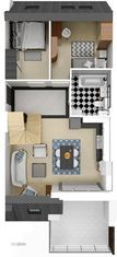 Promocja! Osiedle Nad Brdą mieszkanie - nr 21