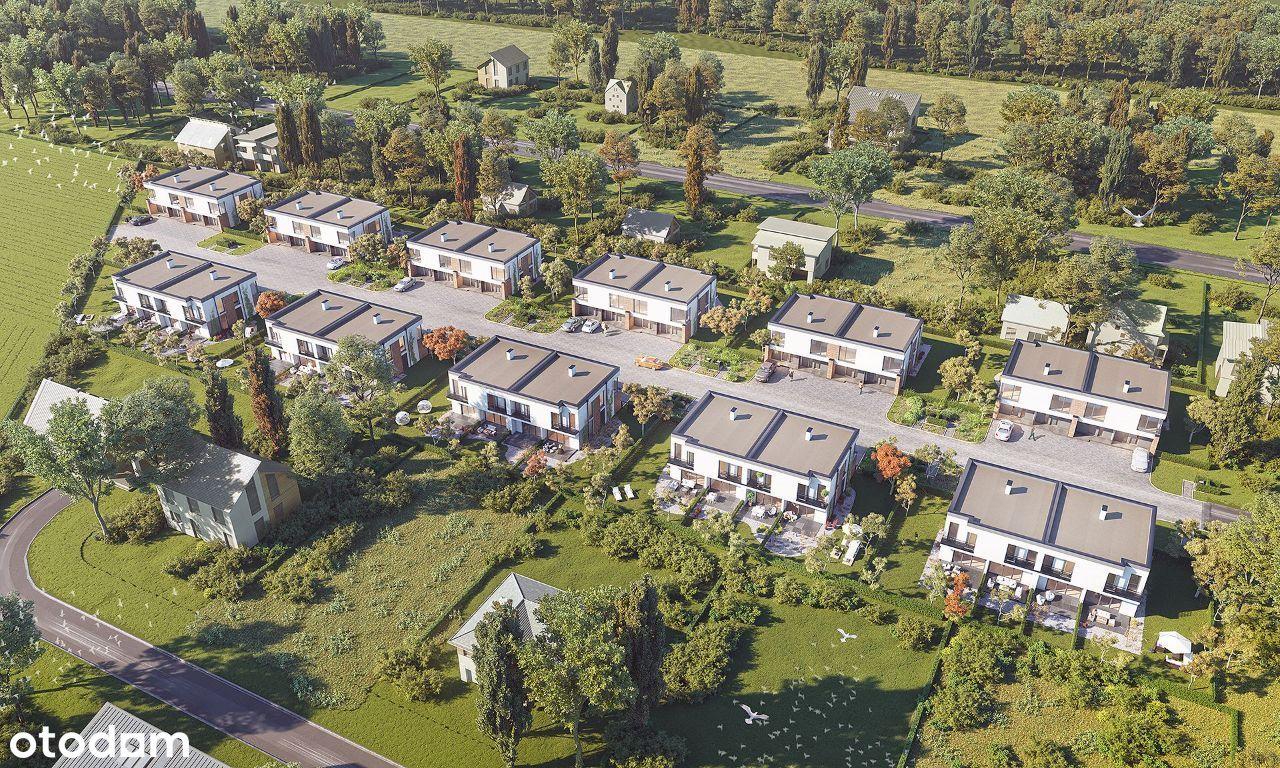 Poznań GRUNWALD Nowe Kotowo, domy z ogrodami, 83m2