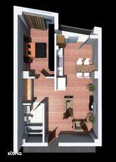 Apartament - Etaj 1 - Scara 1 - 56.60 mp
