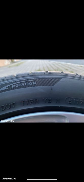 Cauc 225/45R17 Hankook dot 2017 vara 7-8mm 4buc - 6