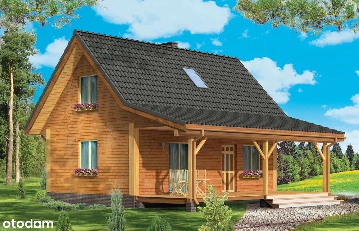 Nowy domek nad jeziorem - projekt Przepiórka