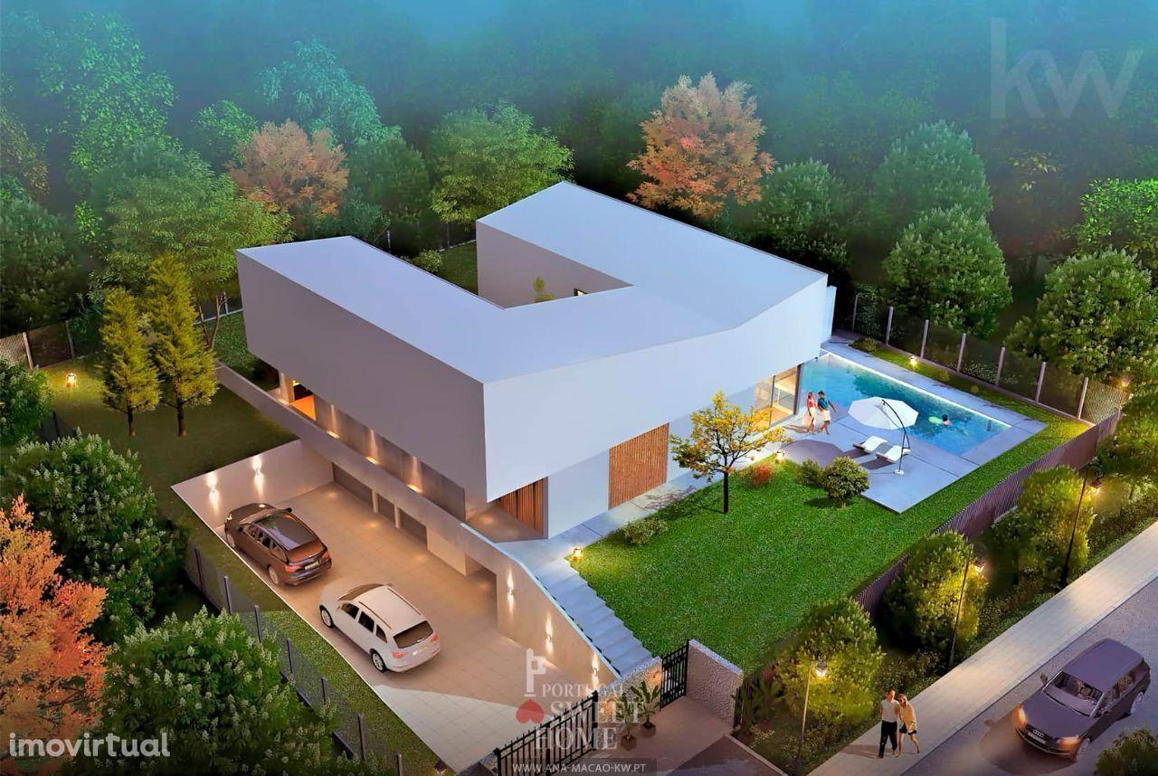Oeiras Golf & Residence - Moradia Isolada T4, em construção, c/projeto
