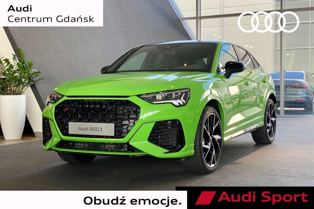 Audi RS Q3 Sportback 400 KM Panorama B&O Matrix Kyalami Green DEMO CAR - 1