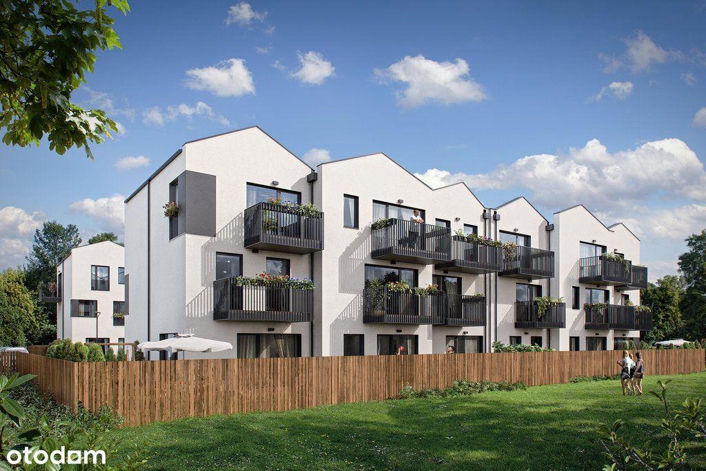 Apartament 45,48m2, 3 pokoje, ogród
