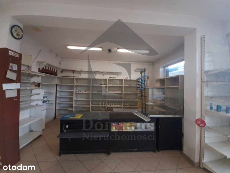 Skawina,ul. Mickiewicza handl.usług. 55m2