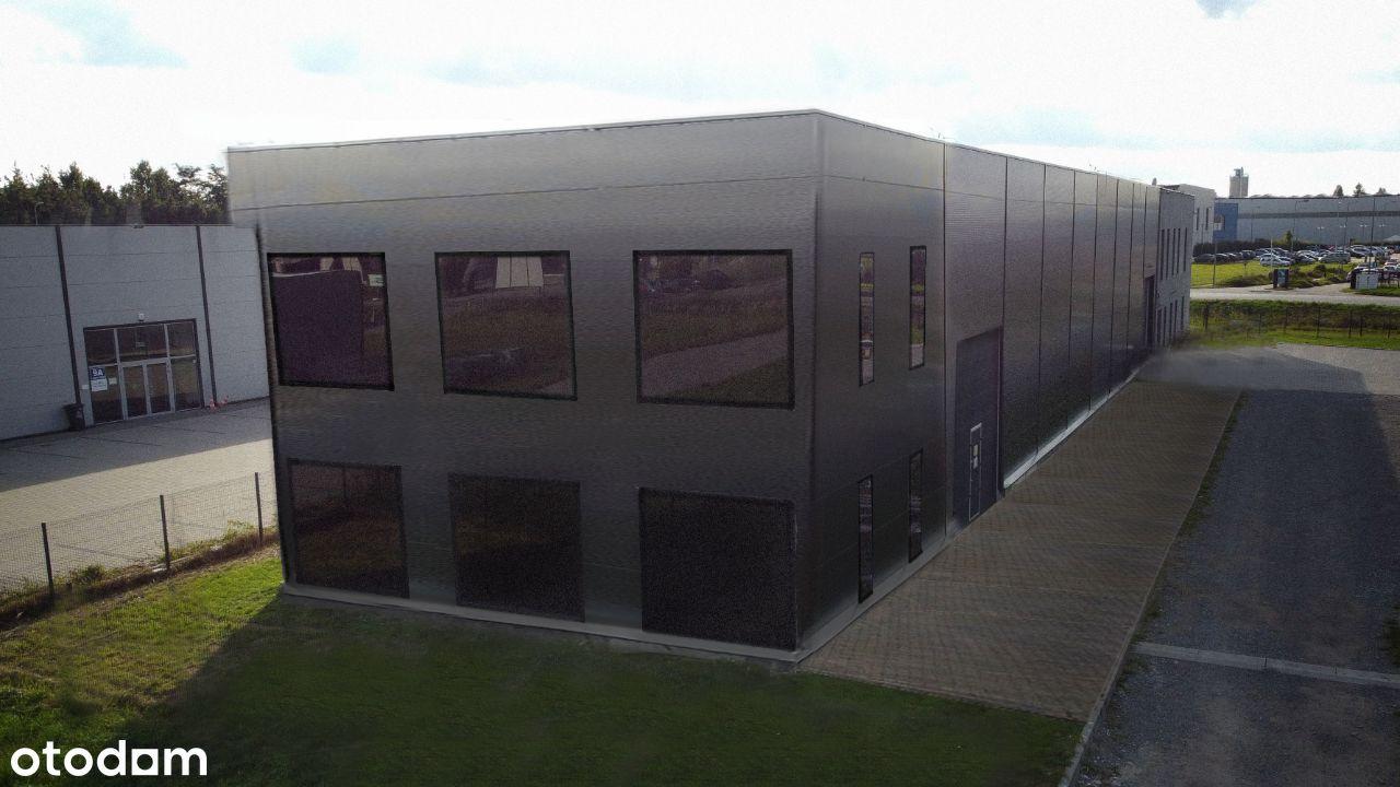 Budynek Biurowo Handlowo Produkcyjny z Magazynem
