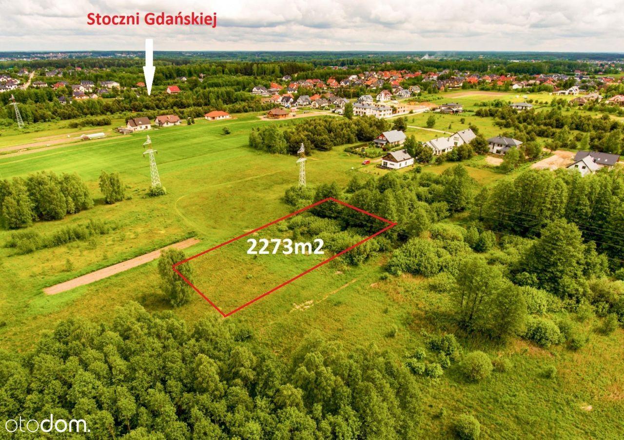 Cicha ustronna działka Białystok, Dojlidy 2273m2