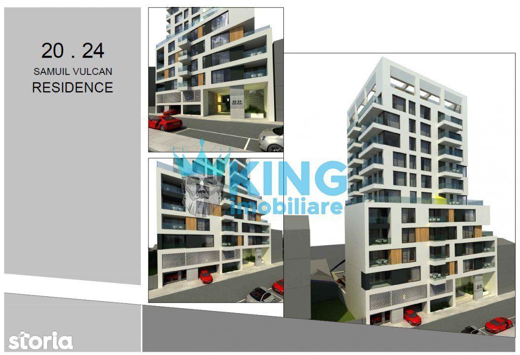 Garsoniera Tip A | Samuil Vulcan Residence | Stadiu de proiect |