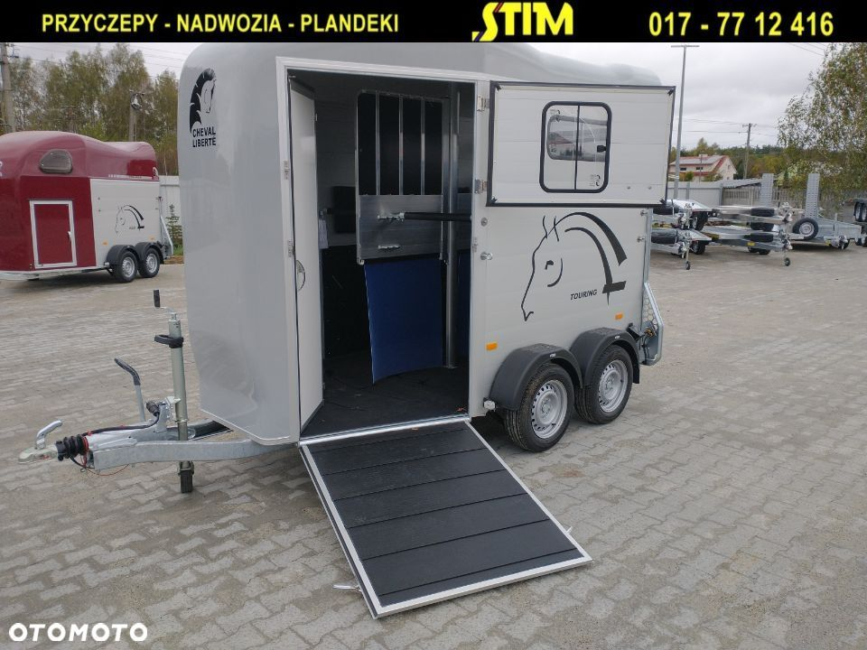 Debon VDK20 - Cheval Liberte Gold Touring Country  DEBON, Touring Country, przyczepa dwukonna, o DMC 2000kg, - 7