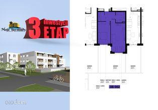 Mieszkanie 2 pokoje 45,31 m2 z ogródkiem; 3B 002