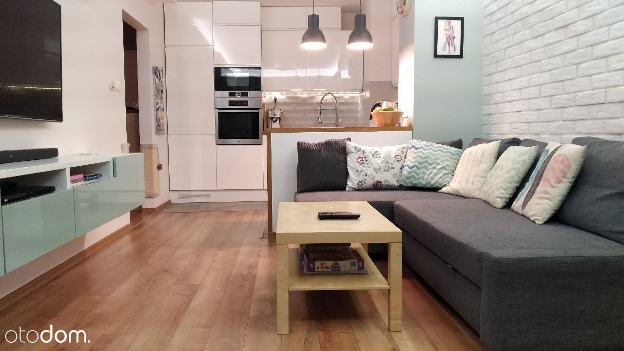 3 pok, 58 m2, umeblowane, nowe budownictwo