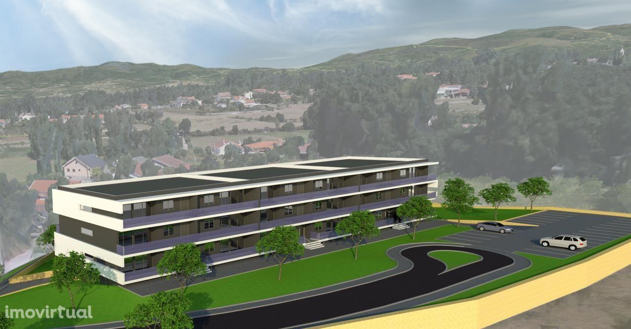 Apartamento T3 com 190 m2, em fase de acabamentos, próximo de Braga