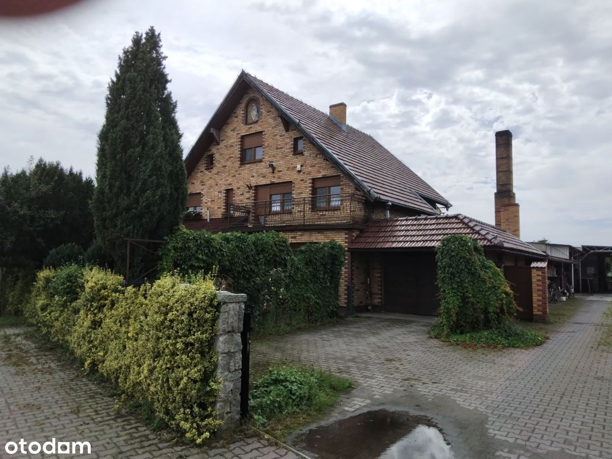 Dom z dużą działką w Wielichowie