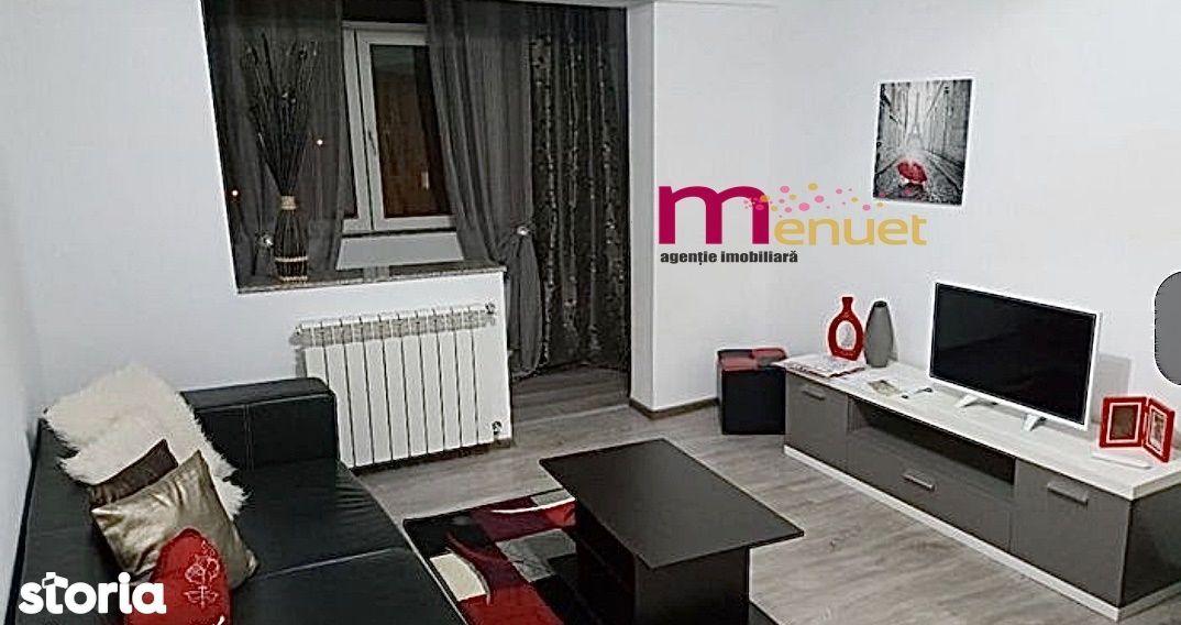 apartament 3camere, mobilat/utilat/gaze/zona Vest
