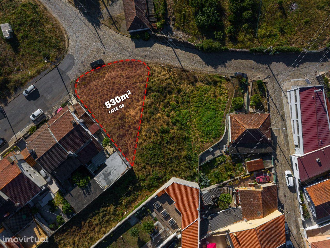 Gondomar   Terreno para construção com 530m2