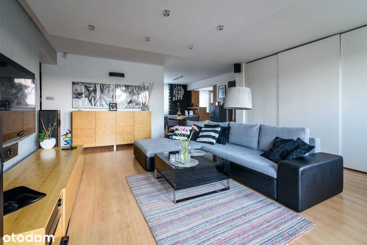 Słoneczny, przestronny 95m2 apartament z tarasem