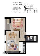 Apartamente cu 2 camere - Complex rezidential de lux PIPERA