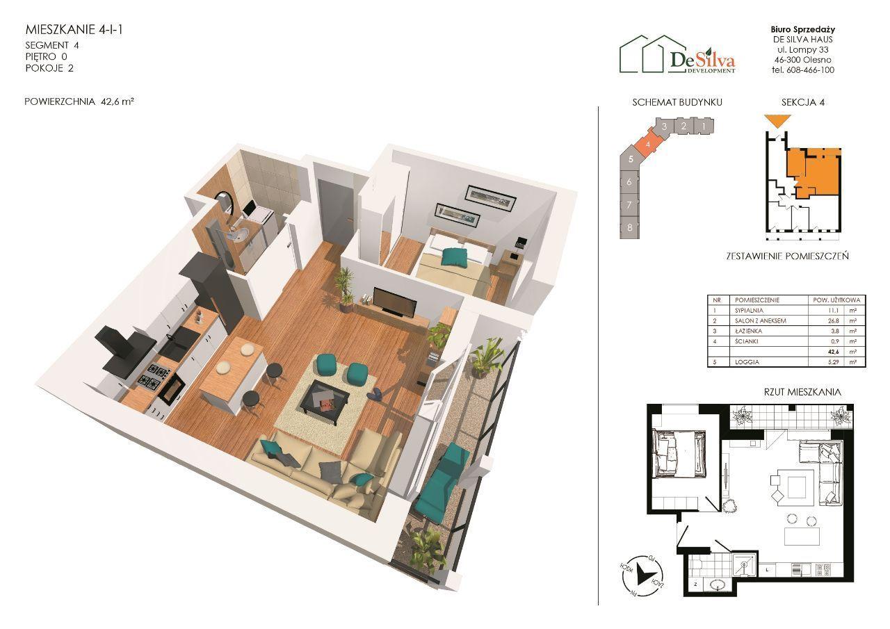 Najmniejsze mieszkanie w całej inwestycji - gratka