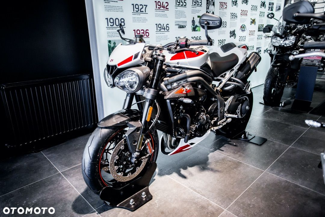 Triumph Speed Triple RS Crystal White PROMOCJA! - 2