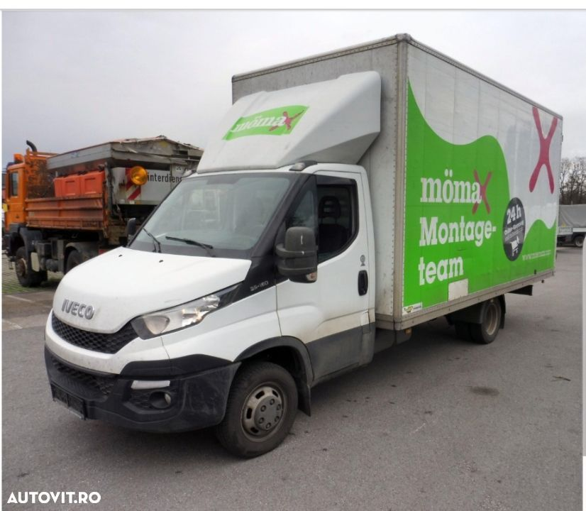 Iveco Daily 35-150 finantare leasing carnet services  4.8 m lungime  3000 cmc an 2015 - 1