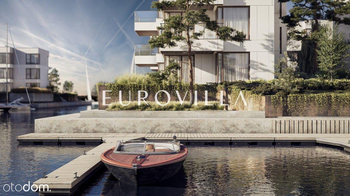 Apartament z ogrodem i prywatną mariną