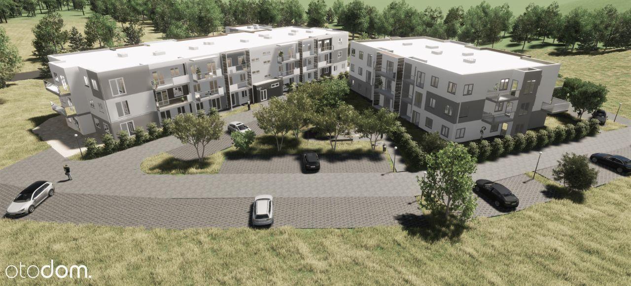 Mieszkanie 2 pokoje 41,99m2 duży balkon.