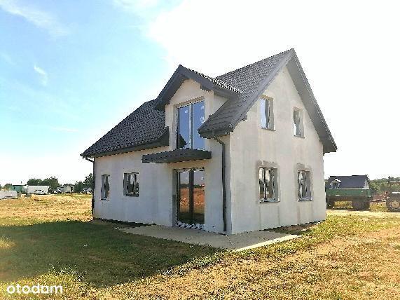 Piękny dom z poddaszem użytkowym i działką 1000m2