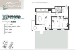 Mieszkanie z ogródkiem i piwnicą - 3 pokoje