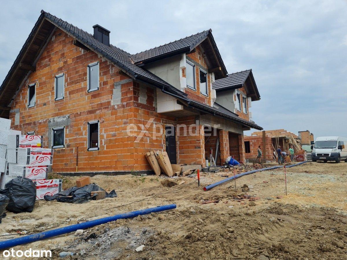 Nowy dom deweloperski, 131 m2, ogród 450 m2