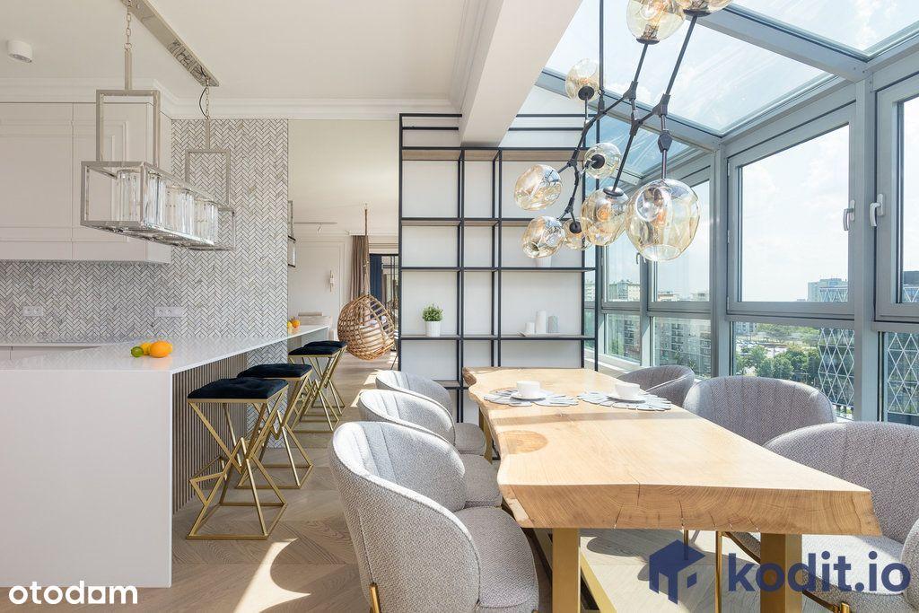 Ekskluzywne mieszkanie na Mokotowie (118,28 m2)