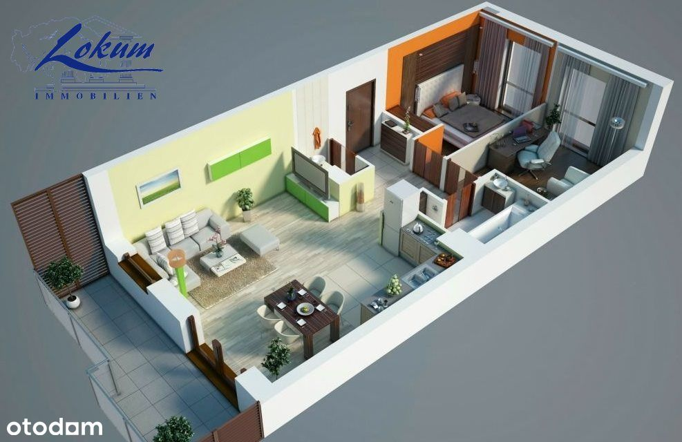Mieszkanie, 52 m², Święciechowa
