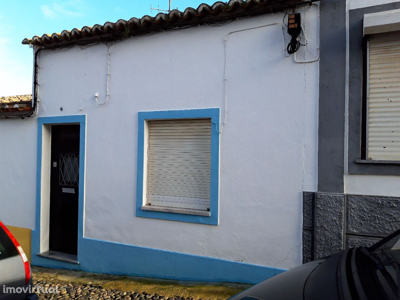 Casa térrea T2 na zona do Jardim Público | Beja